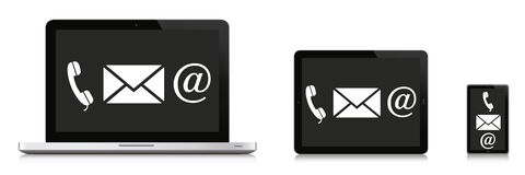 Kommunikations-Konzept Lizenzfreie Stockfotografie