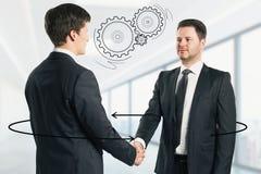 Kommunikations-und Teamwork-Konzept lizenzfreie abbildung