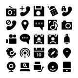 Kommunikations-Vektor-Ikonen 9 Lizenzfreie Stockfotos