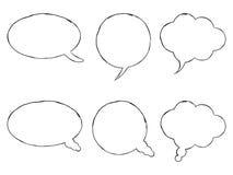 Kommunikationsanförandebubblor Royaltyfri Fotografi