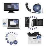 kommunikationsanslutning Fotografering för Bildbyråer