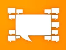 kommunikationsbegrepp Vektor Illustrationer