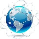 Kommunikationserde. lizenzfreie abbildung
