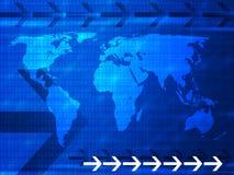 Kommunikationshintergrund 2 Lizenzfreie Stockfotos