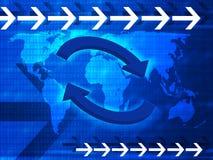 Kommunikationshintergrund 2 Lizenzfreies Stockfoto