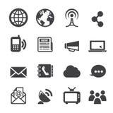 Kommunikationsikone Lizenzfreies Stockfoto