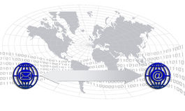 Kommunikationsikonen Lizenzfreie Stockfotos