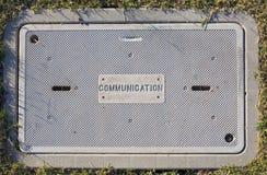 Kommunikationsinfrastruktur Stockfotografie