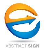 Kommunikationskonzept mit Kreiszeichen Lizenzfreies Stockbild