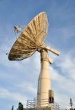 kommunikationsmaträttsatellit royaltyfri fotografi