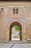 Kommunikationsrechner nach den Alhambra Stockfoto