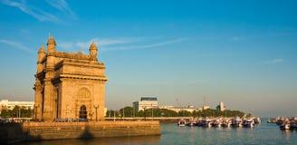 Kommunikationsrechner zum Indien-Panorama Stockfoto