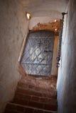 Kommunikationsrechner zum mittelalterlichen Schloss Lizenzfreie Stockbilder