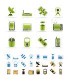 kommunikationssymbolsteknologi vektor illustrationer