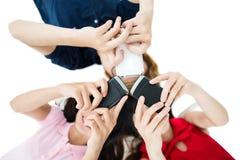 Kommunikationstechnologie Stockfoto