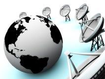 Kommunikationsteller Lizenzfreies Stockfoto