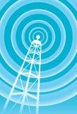 kommunikationstorn stock illustrationer