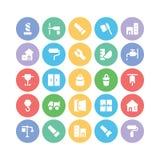 Kommunikationsvektorsymboler 13 Arkivbild