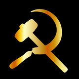 Kommunismsymbol Arkivfoto