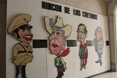 Kommunistische Propagandakunst in Havana, Kuba Stockfotografie