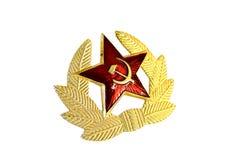 Kommunistisches Abzeichen Stockfoto