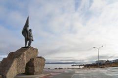 Kommunistisk monument royaltyfri foto