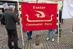 kommunistiska exeter användare party s Royaltyfria Bilder