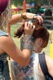 komoda włosy Obraz Royalty Free