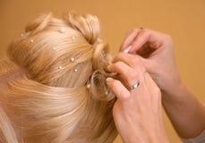 komoda włosy Zdjęcia Stock