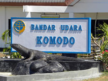 Komodo Airport Stock Photo