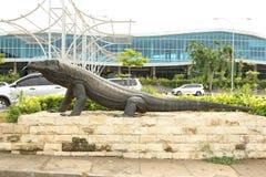 Komodo Airport, Labuan Bajo stock image