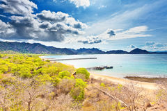 Komodo bay Stock Photo
