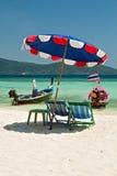 Komodo beach in Coral island, Thailand Royalty Free Stock Photos