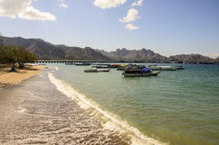 Komodo-Insel-Panorama Lizenzfreies Stockfoto