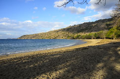 Komodo Island Beach. Komodo is part of the Lesser Sunda chain of islands and forms part of the Komodo National Park. The island is famous not only for its Stock Photos