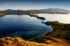 Komodo island national park Stock Photo