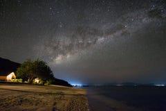 Komodo Vintergatan Arkivfoton
