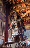 Komokuten, Todaiji寺庙的一位监护人在奈良 免版税库存照片