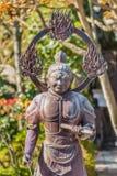 Komokuten- ο δυτικός φύλακας του Βούδα στοκ εικόνα
