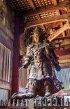 Komokuten, a guardian at Todaiji Temple in Nara Royalty Free Stock Photo