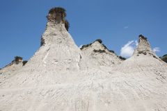 Komolithi geological phenomenon at Potamida in Crete. Greece Stock Photos