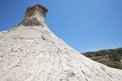 Komolithi geological phenomenon at Potamida in Crete. Greece Stock Image