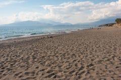 Komos Beach Stock Photo
