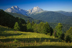 Komovi Mountains Royalty Free Stock Photos