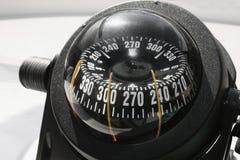Kompaß auf der Yacht, die Lieferung Lizenzfreie Stockfotografie
