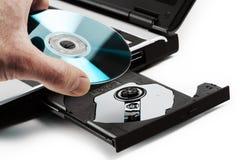 kompakt disk Royaltyfri Fotografi