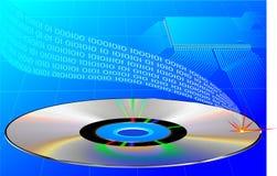 kompakt disk Fotografering för Bildbyråer