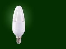 kompakt fluorescerande lightbulb Royaltyfri Fotografi