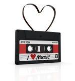 Kompakt kassett stock illustrationer