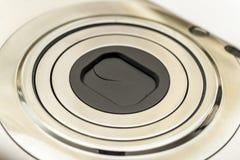 kompakt lins för kamera Arkivbild
